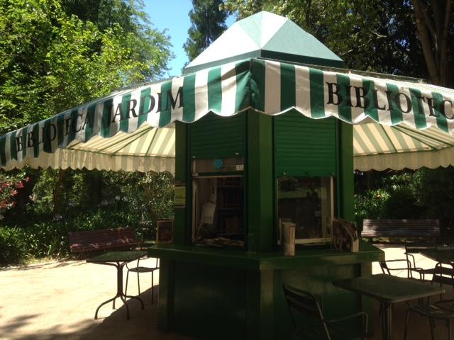 Biblioteca Jardim, Estrela Gardens, Lisbon