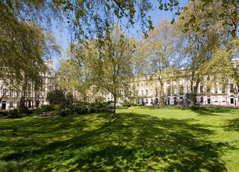 Fitzroy Square, London Mindfulness Project